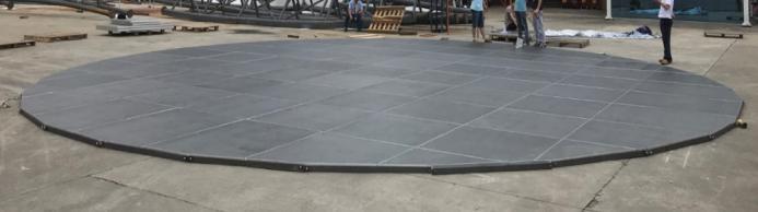 Podea din placaj